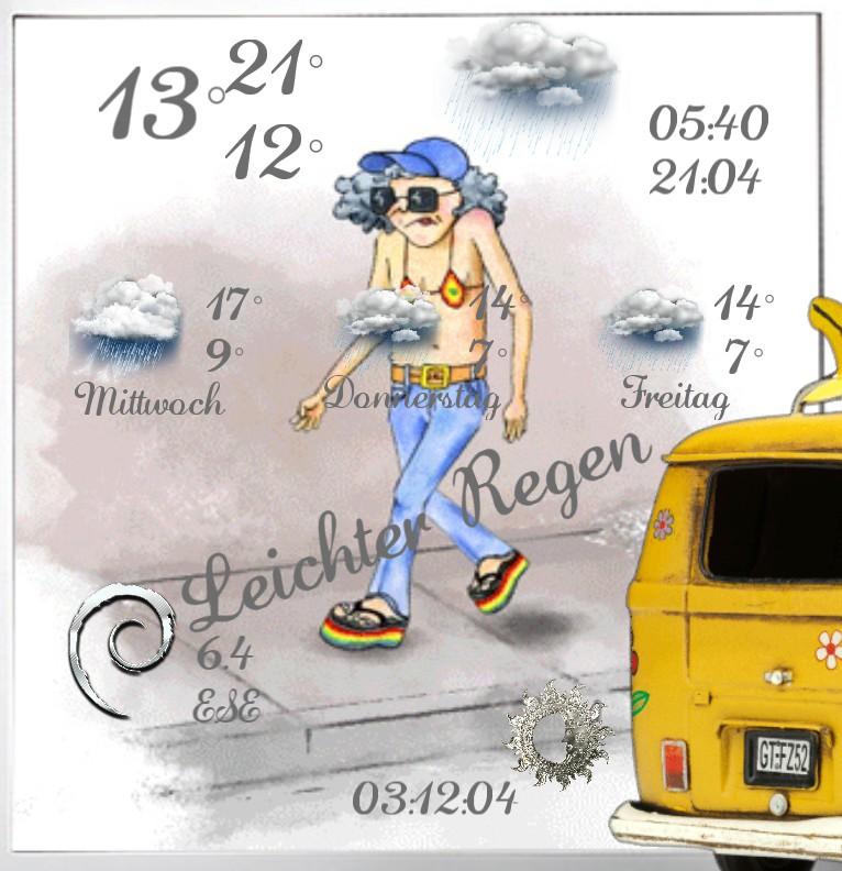 Wetter Hippie Step