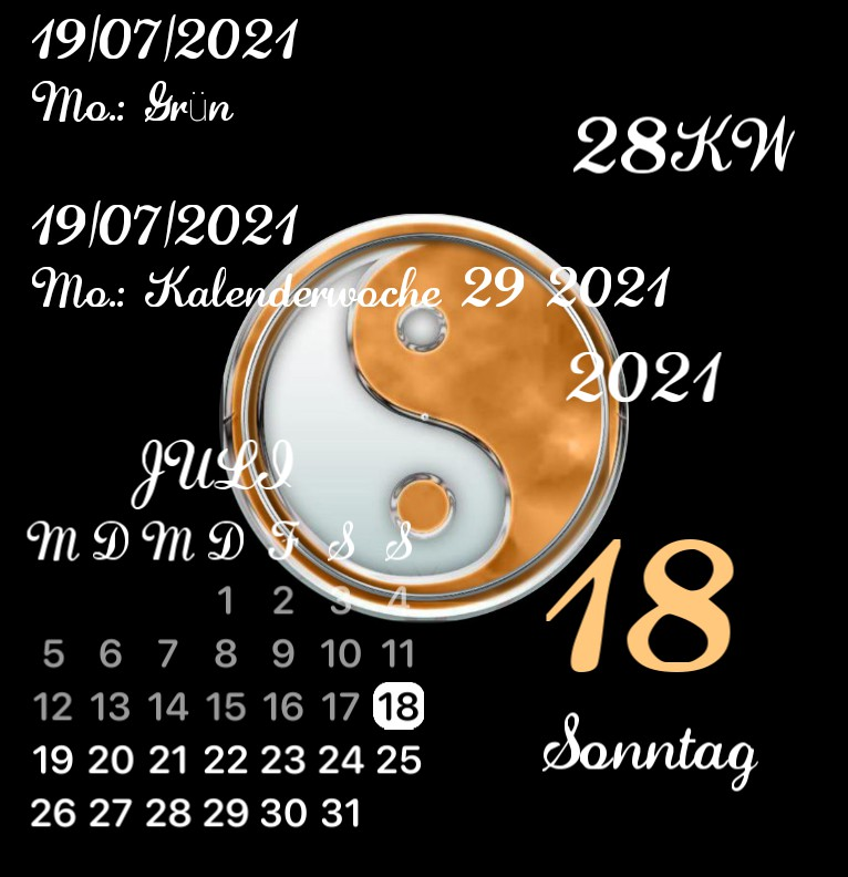 Kalender Yin  Yang