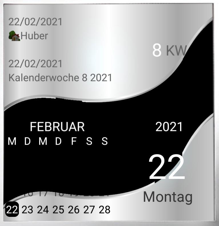 Kalender gross Serie Welle