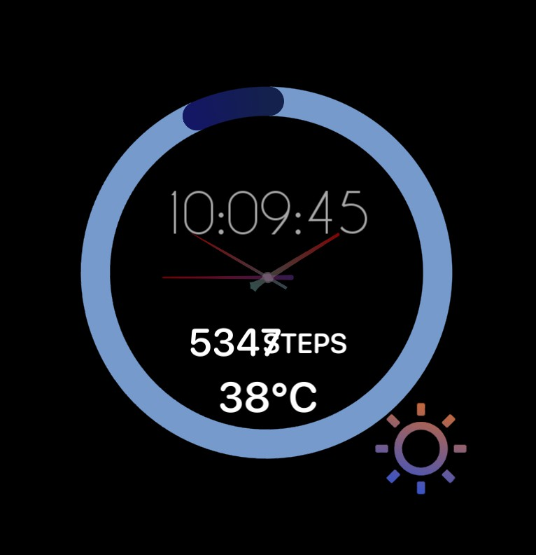 clock, battery