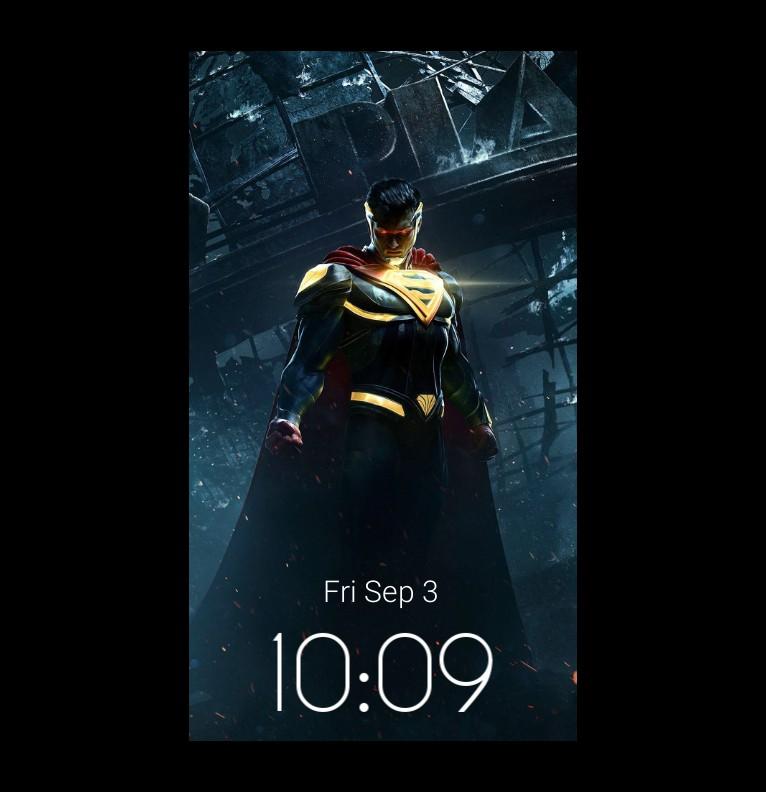 super man is cool