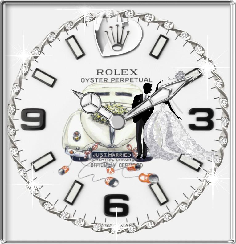 Clock R...x Hochzeitstag  Copy