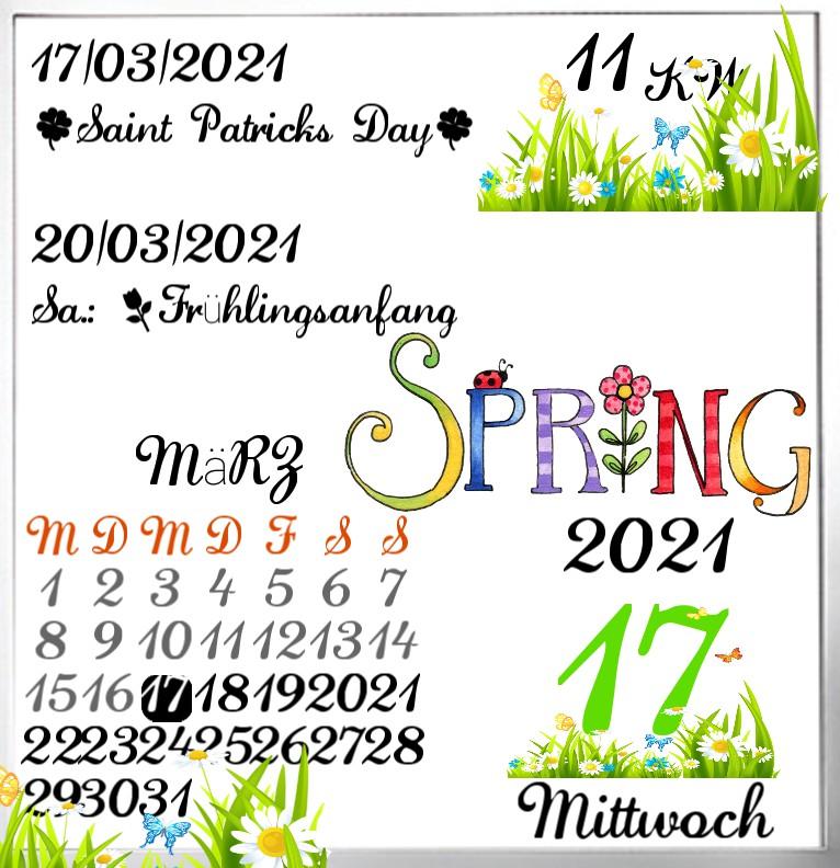 Kalender Spring 1