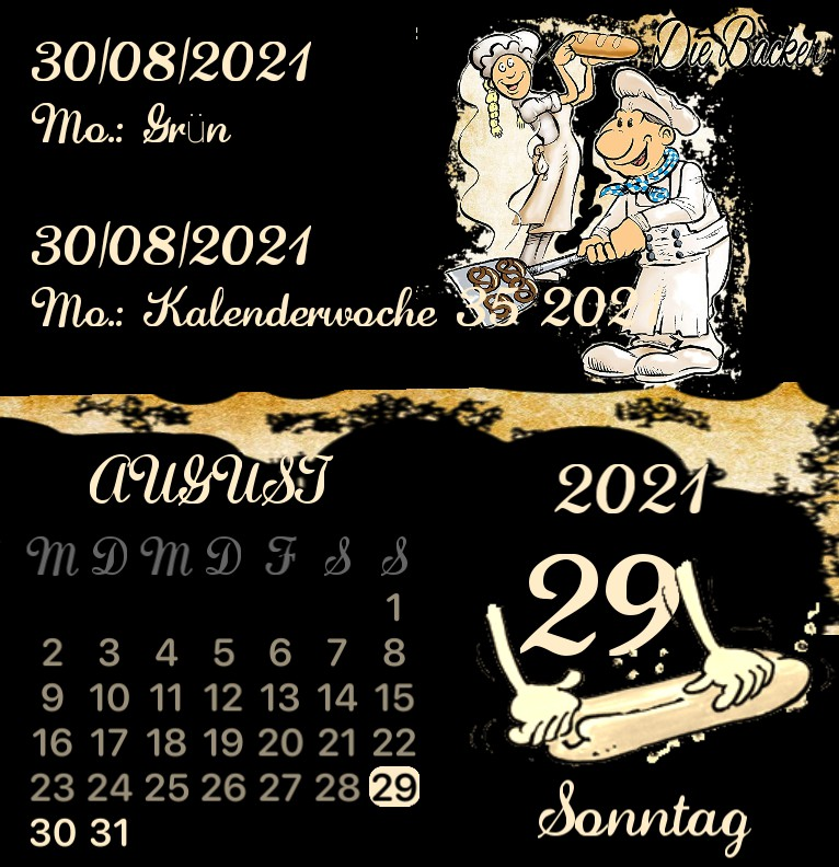 Kalender Baecker