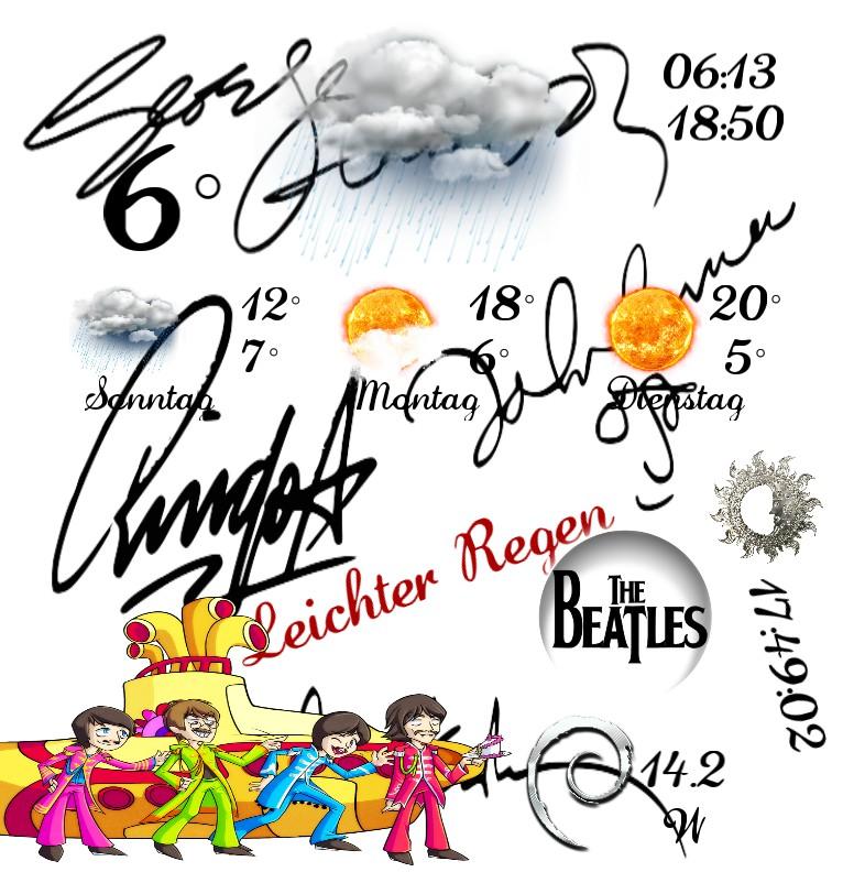 Widget Wetter The Beatles  2