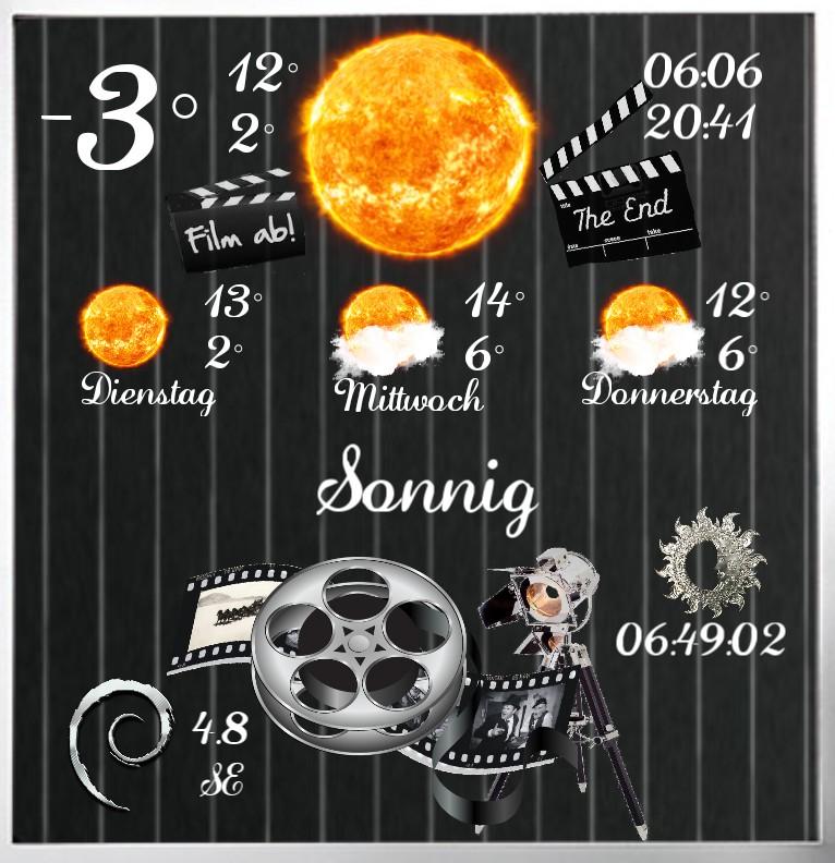 Widget Wetter Cinema