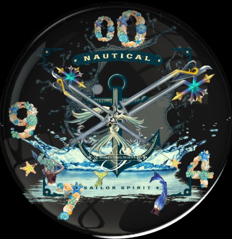 Clock Sailor Spirits SIE