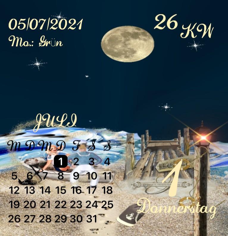 Kalender Kuestenkind 18 Nacht