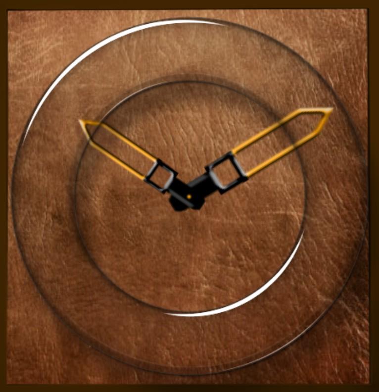 Clock Leder Magie
