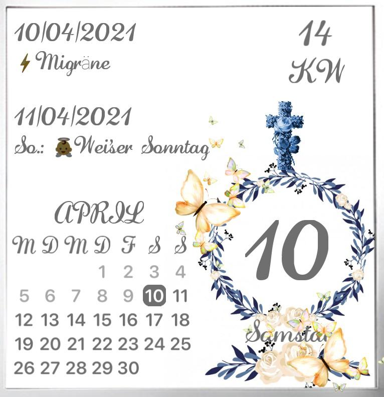 Kalender Pfingsten  1