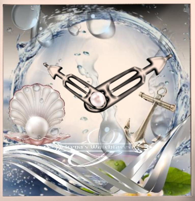 Clock  Seashell