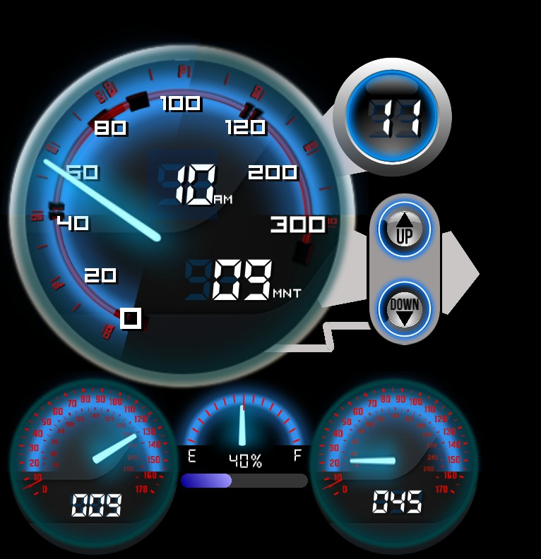 Turbo Speedometer