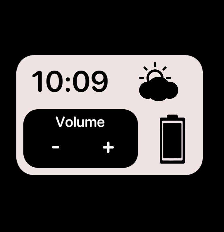hour weather volume and battery