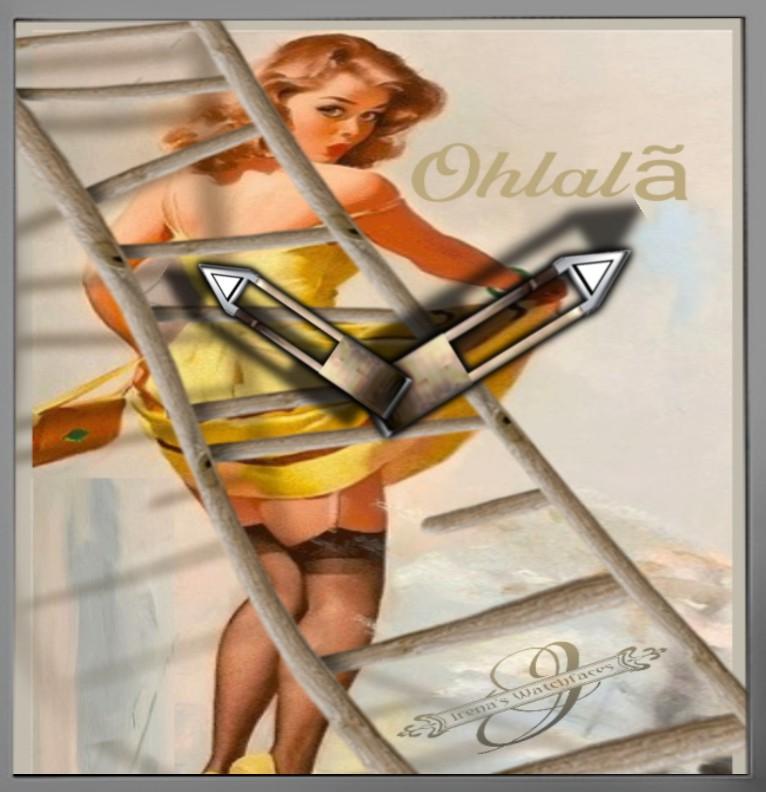 Ohlala Clock
