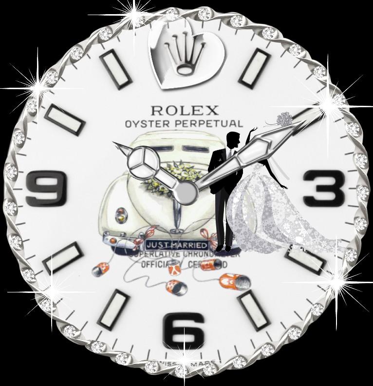 Clock R...x Hochzeitstag  tranz
