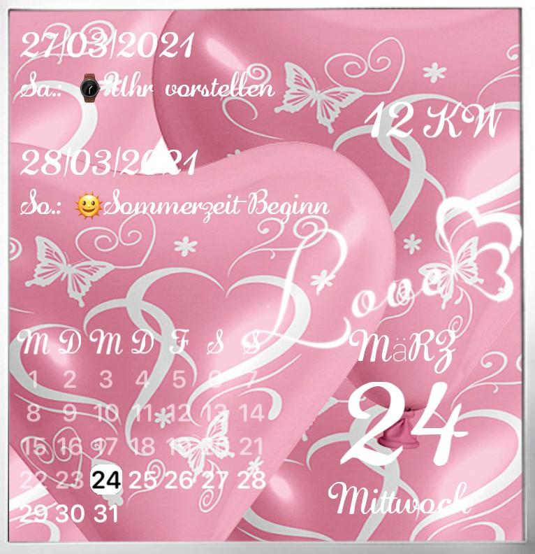 Kalender Lovetime