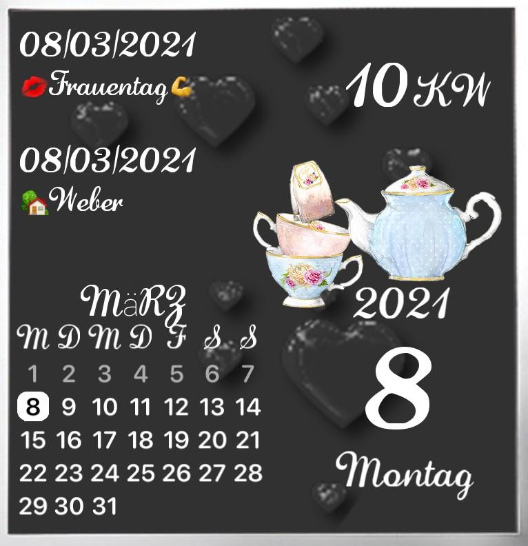 Kalender gross Serie Tea Time