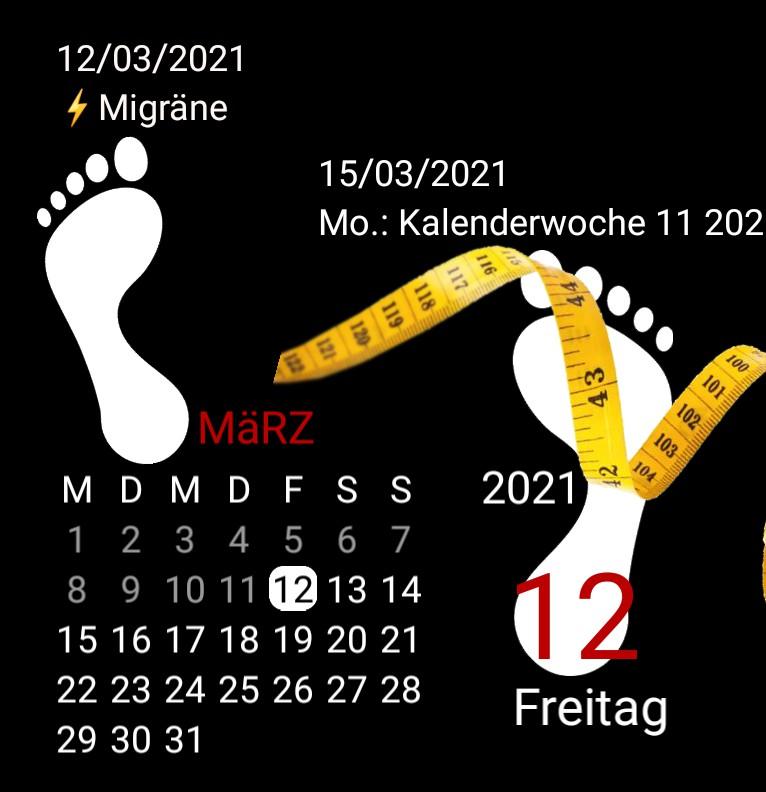 Kalender Serie Waage
