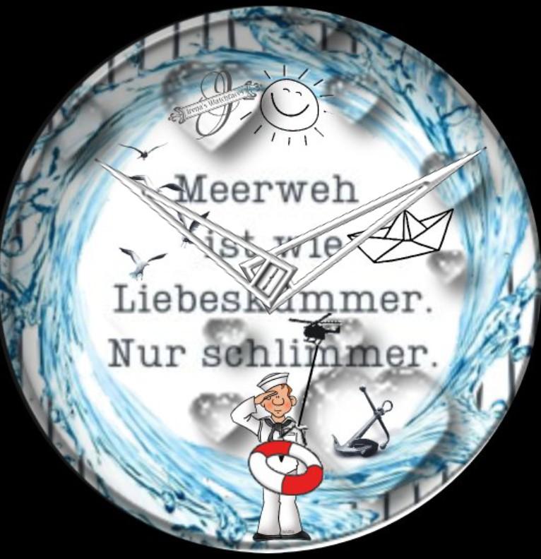 Clock Kuestenkind 3