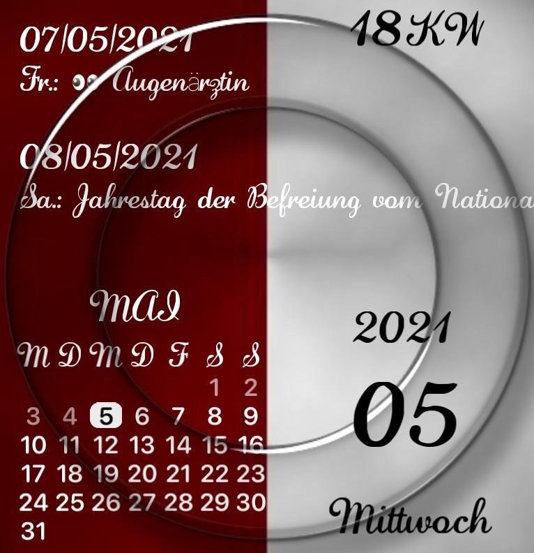 Kalender Face to Face
