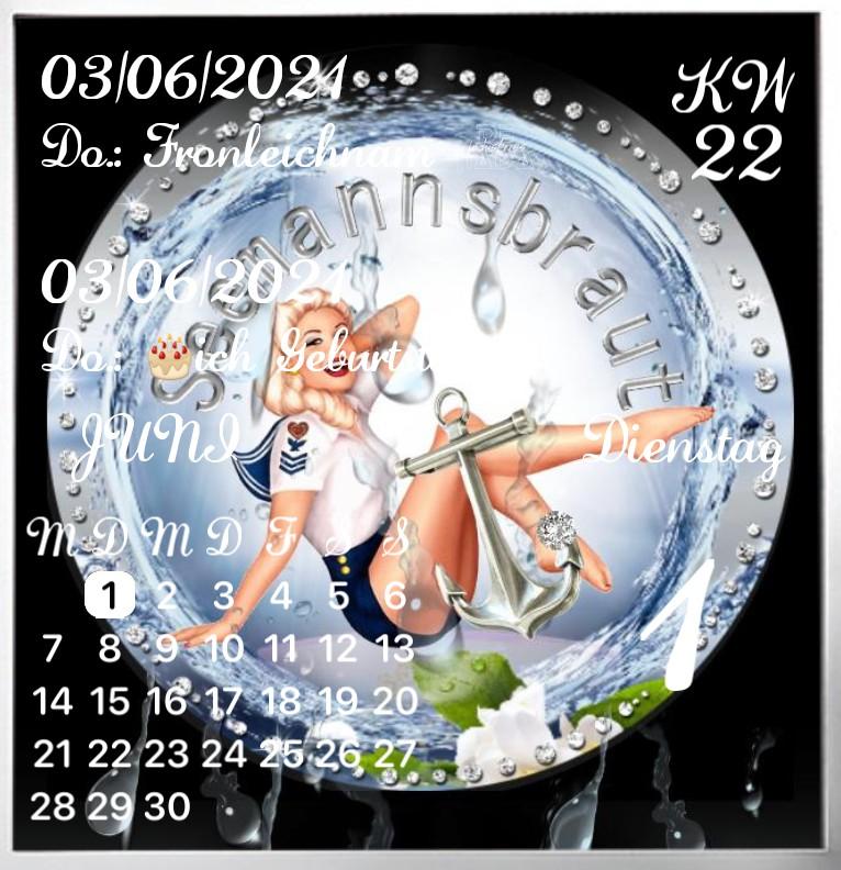 Kalender Seemannsbraut Luxus  1