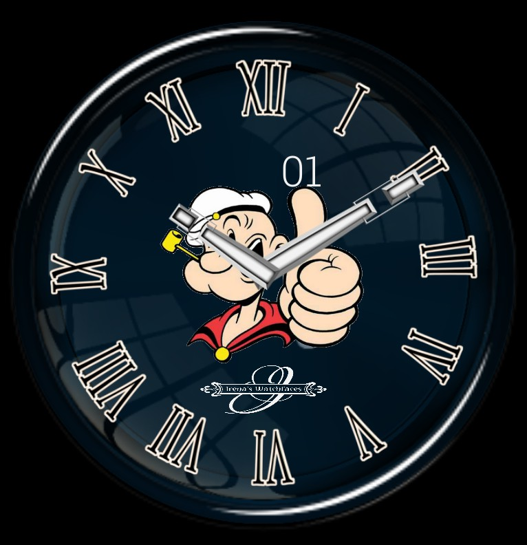 Clock Popeye