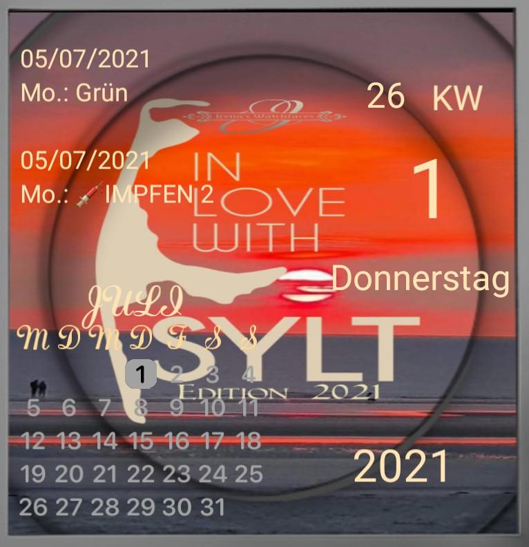 Kalender Sylt Edition 2021