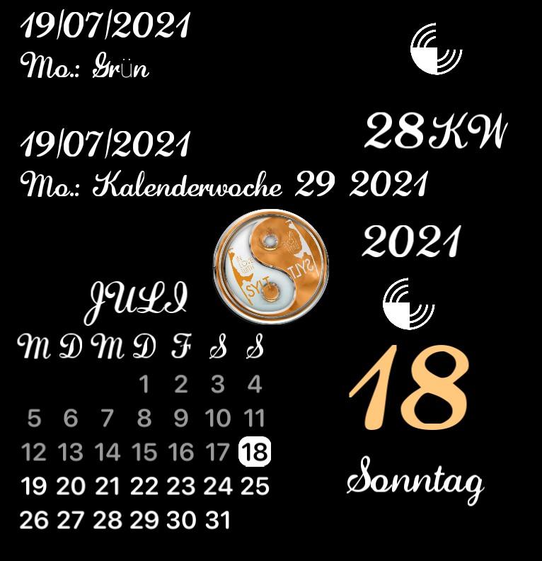 Kalender Sylter Yin  Yang