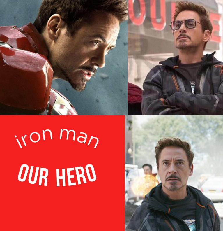 iron man red widget