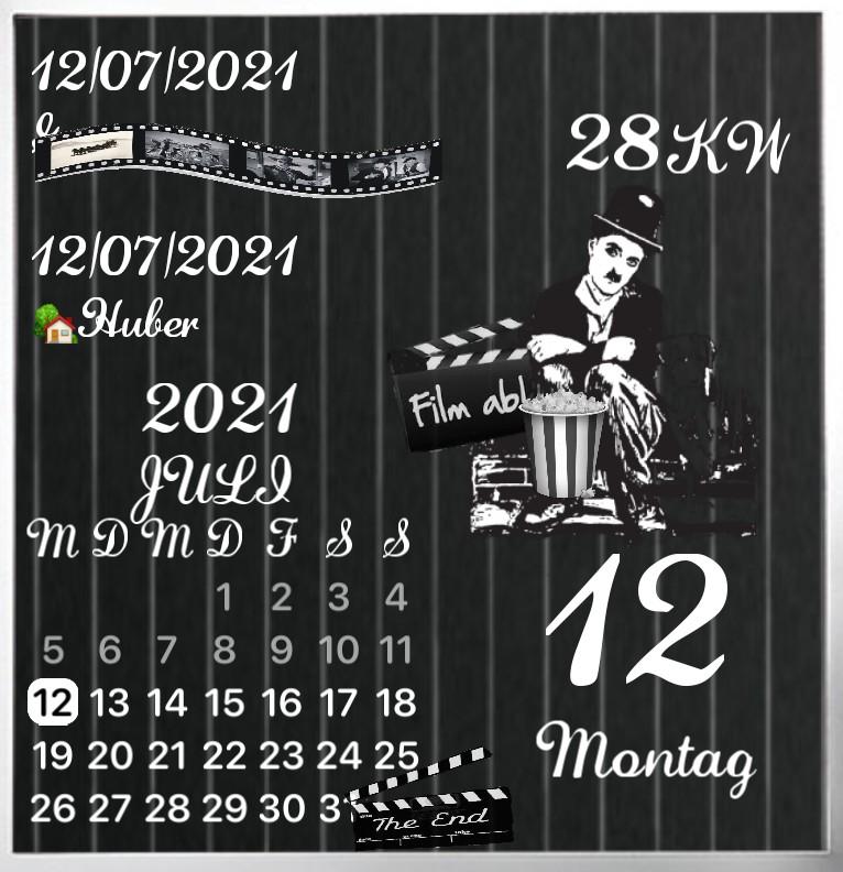 Kalender Charlie Chaplin 1