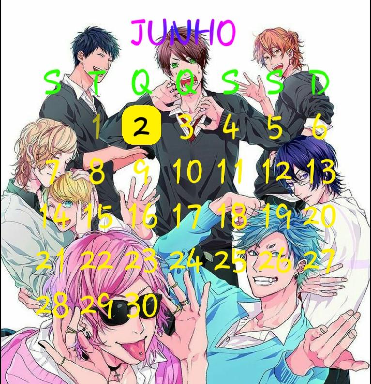 yarichin calendar