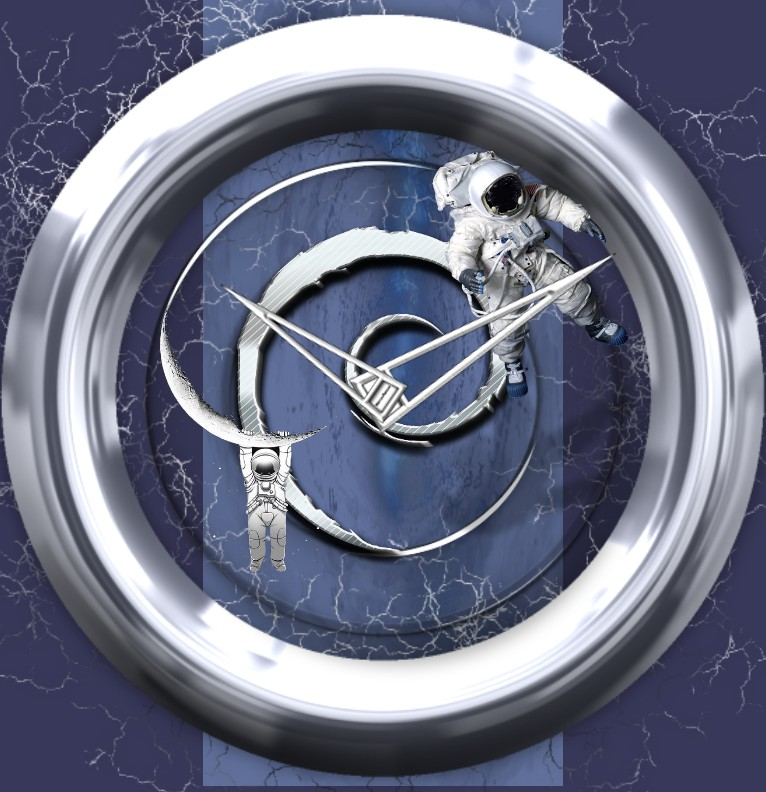 Clock Astronaut