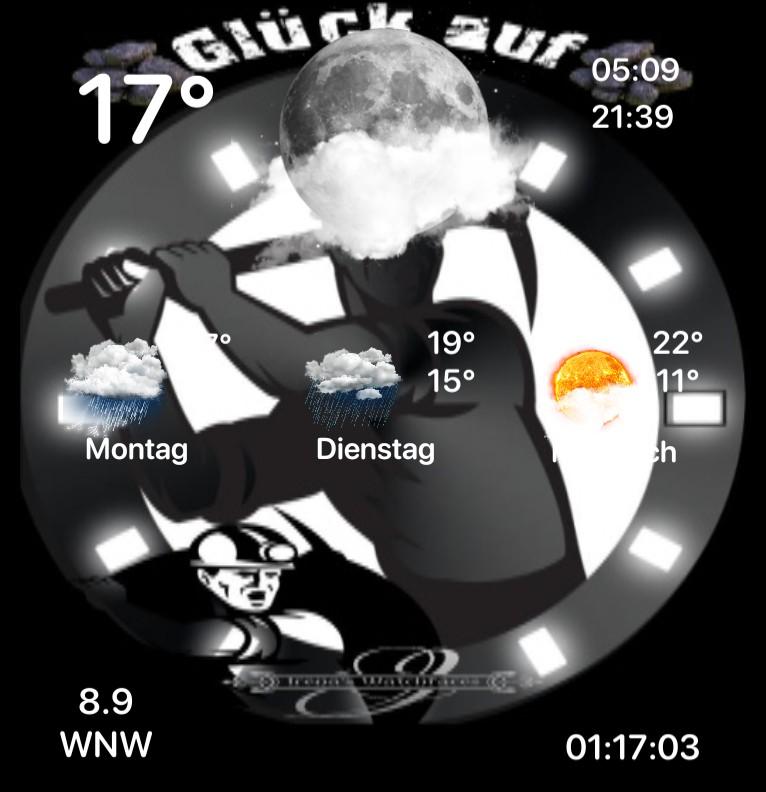 Widget Wetter Bergmann