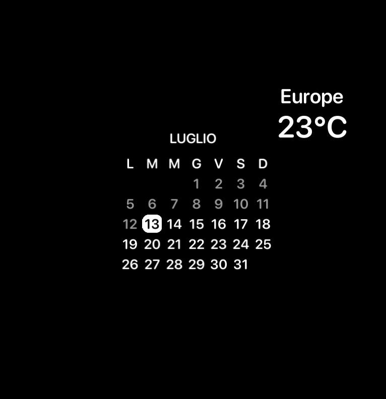 calendario gradi