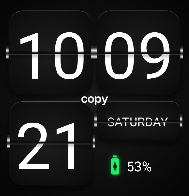 Flip Clock Copy