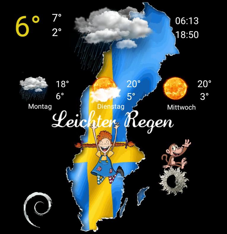 Widget Wetter Serie Pippi Langstrumpf