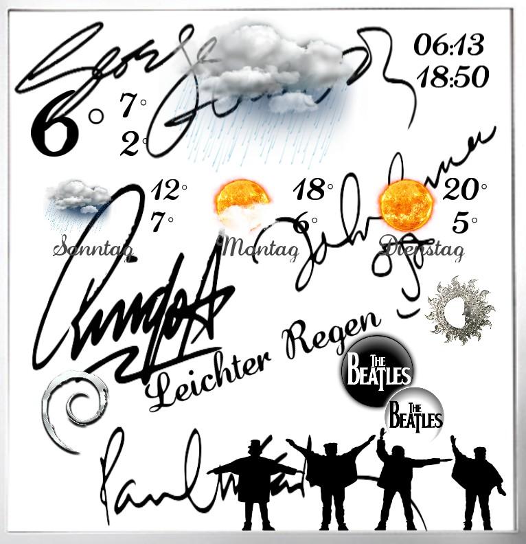 Widget Wetter The Beatles