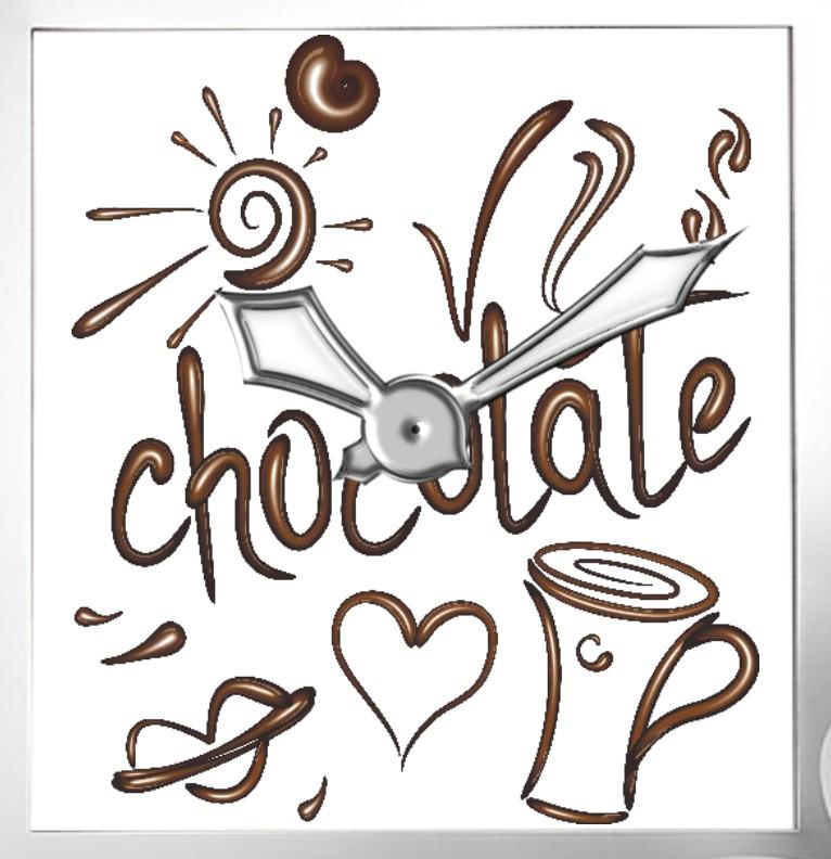 Clock Chocolate