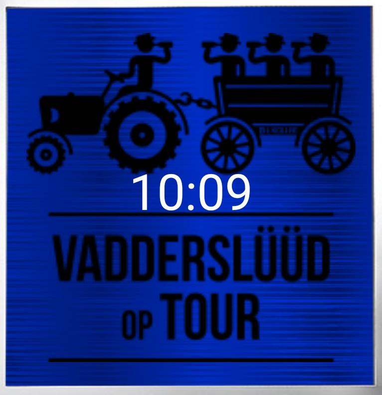 Clock Vatertag