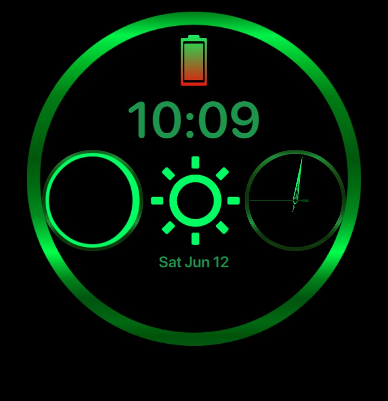Green Widget