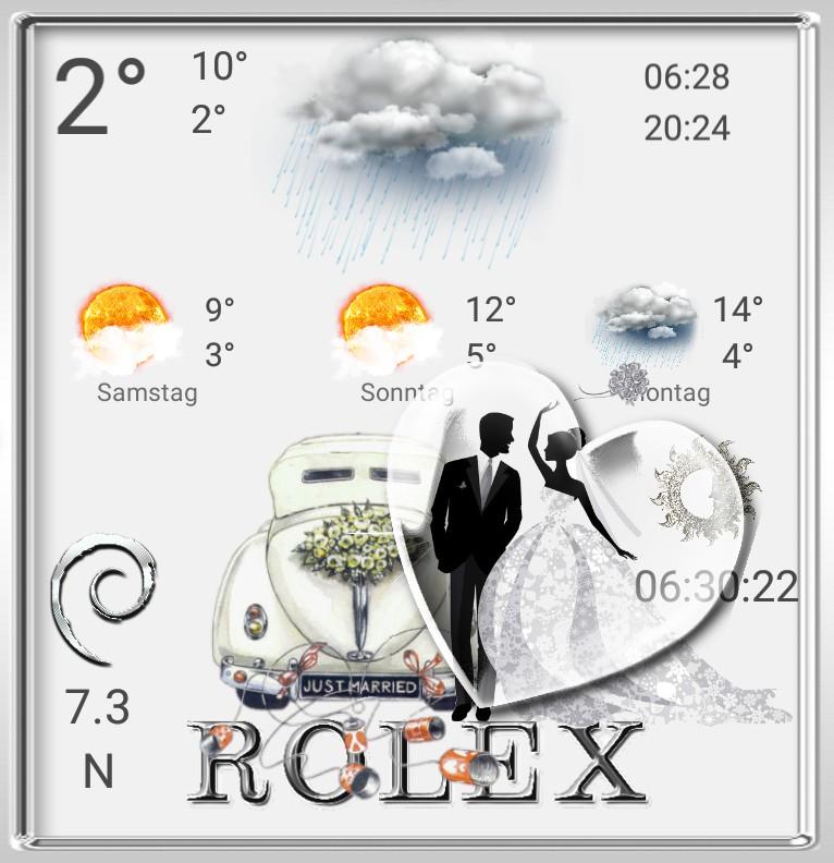 R...x Wetter Hochzeitstag