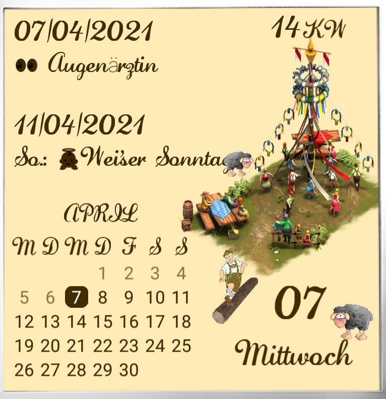 Kalender Tanz in den Mai