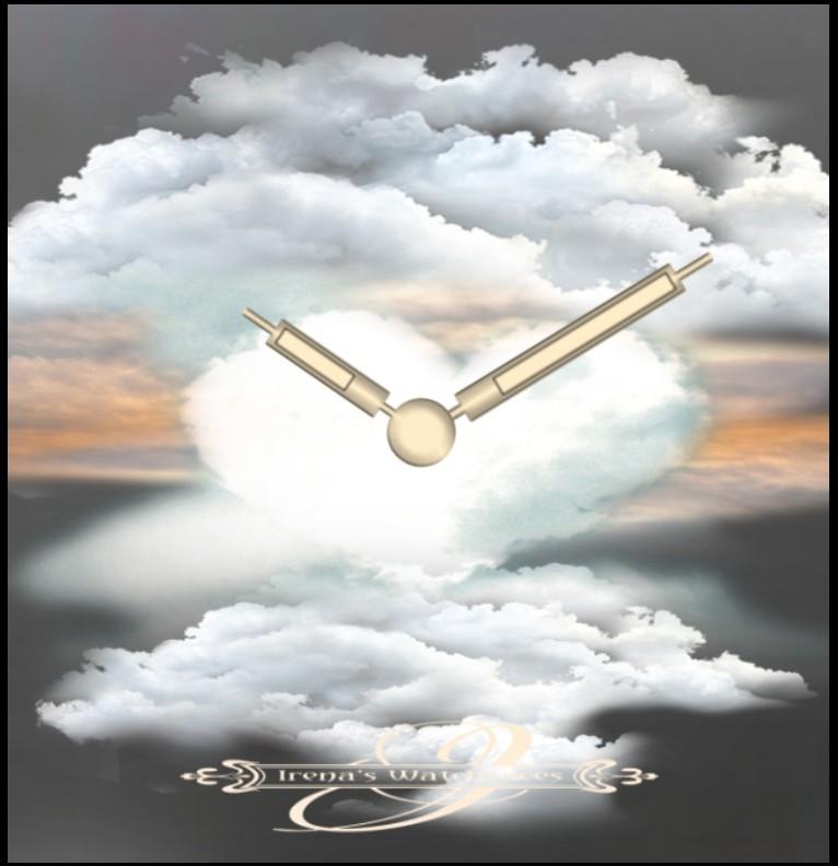 Clock Love in Heaven