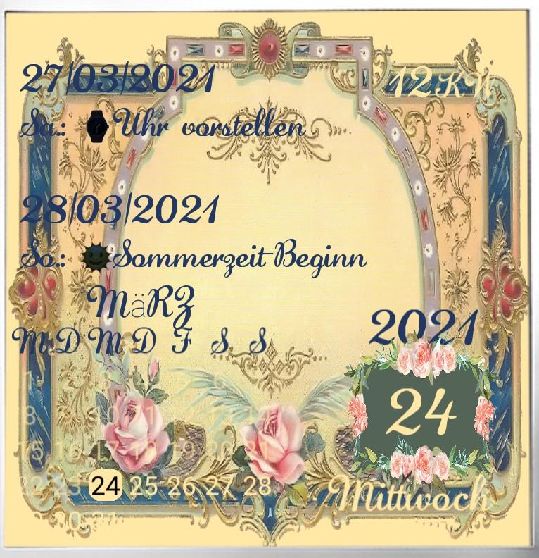 Kalender Vintage Rose