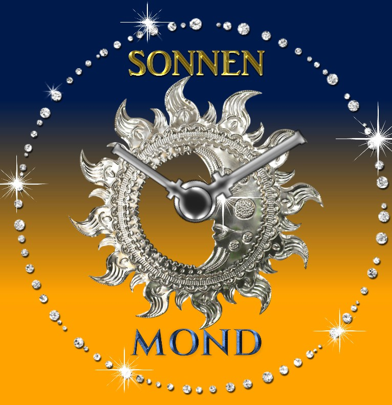 Clock Sonnenmond