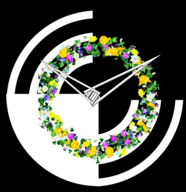 Clock Modern Spring