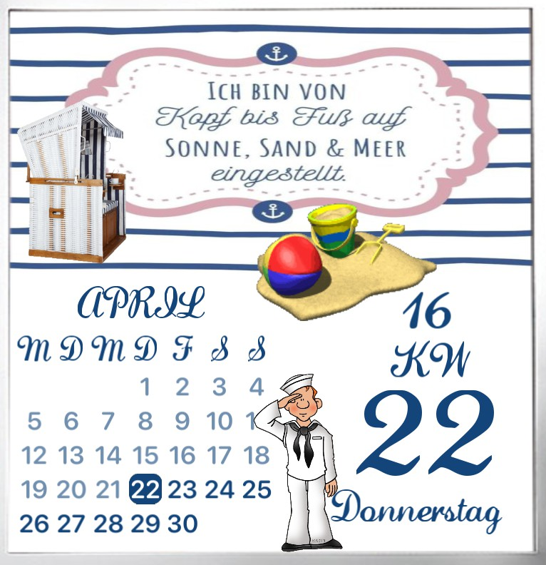Kalender Kuestenkind