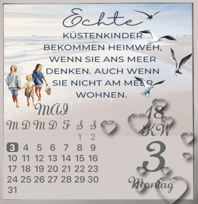 Kalender Kuestenkind 1