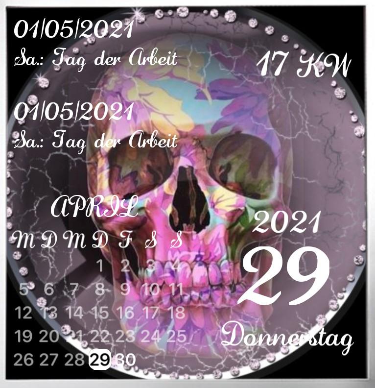 Kalender Lady Skull
