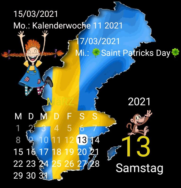 Kalender Serie Waage Copy